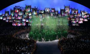 Ολυμπιακοί Αγώνες 2016: Η γιορτή στη Βραζιλία άρχισε με μια λιτή αλλά όλο μηνύματα τελετή έναρξης!