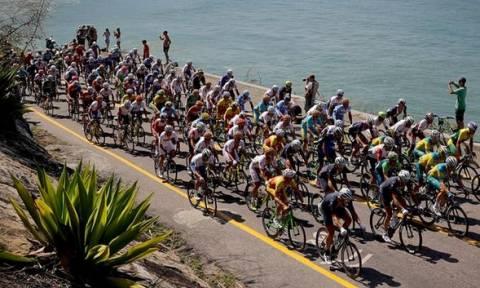 Ολυμπιακοί Αγώνες 2016: Ελεγχόμενη έκρηξη σε τερματισμό ποδηλατοδρομίας