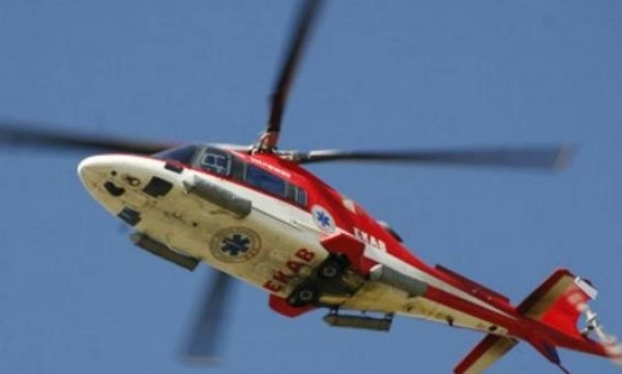 Θεσσαλονίκη: Αεροδιακομιδή 48χρονου με έμφραγμα