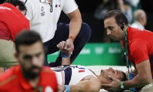 Ολυμπιακοί Αγώνες 2016: Ανατριχιαστικός τραυματισμός Γάλλου αθλητή (σκληρές εικόνες)