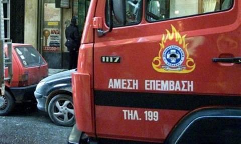 Πυρκαγιές σε σπίτια σε Τριανδρία και Αγγελοχώρι