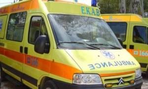 Τροχαίο με δύο τραυματίες σε δρόμο της Πρέβεζας
