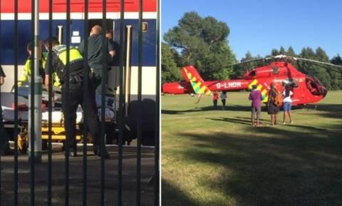Φρίκη: Επιβάτης τρένου αποκεφαλίστηκε στο νότιο Λονδίνο (vid)
