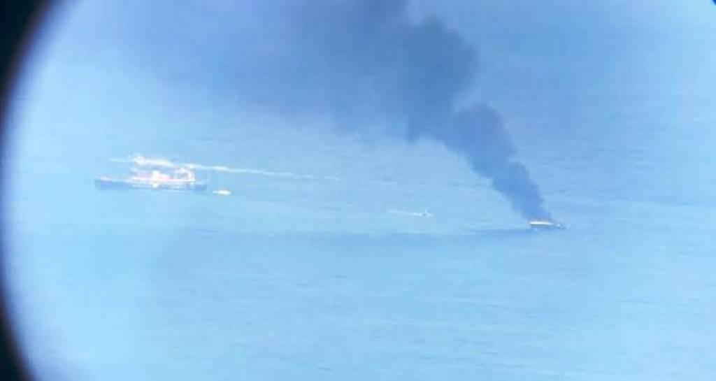 Φωτιά σε θαλαμηγό ανοιχτά της Λευκάδας (photo)