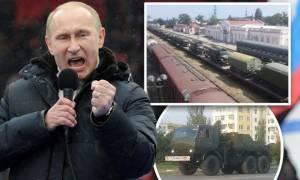 Συναγερμός στη Ρωσία: Ο Πούτιν κατεβάζει στρατό στα σύνορα της Κριμαίας – Φόβοι για εισβολή (Vid)