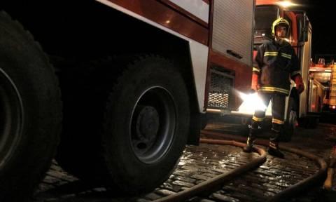 Υπό έλεγχο η φωτιά στη Μεταμόρφωση