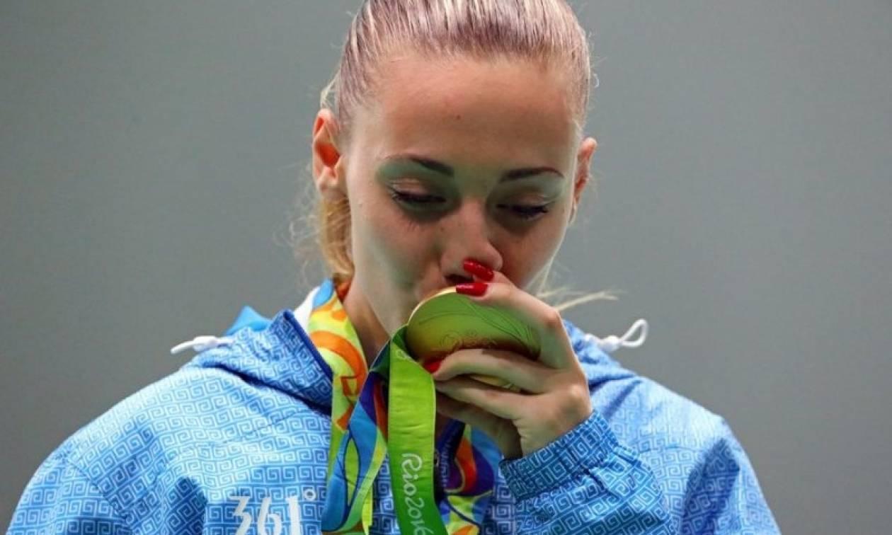 Ολυμπιακοί Αγώνες 2016: Τηλεφωνική επικοινωνία του Πρόεδρου της Δημοκρατίας με την Άννα Κορακάκη
