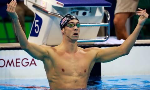 Ολυμπιακοί Αγώνες 2016 - Κολύμβηση: Σαρώνει ο Φελπς - Έφτασε τα 21 χρυσά μετάλλια!