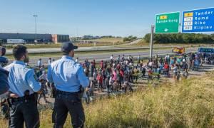 Άνδρας απειλεί να ανατιναχτεί σε Κέντρο Φιλοξενίας προσφύγων