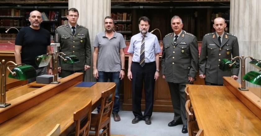 Συνεργασία Υπηρεσίας Στρατιωτικών Αρχείων με την Εθνική Βιβλιοθήκη της Ελλάδος (pics)