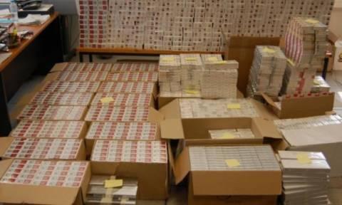 Πειραιάς: «Μπλόκο» σε 10.430.000 λαθραία τσιγάρα