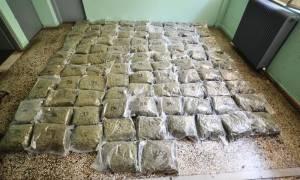 Καστοριά: Σύλληψη δύο Σκοπιανών με 100 κιλά χασίς (vid)
