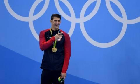 Ολυμπιακοί Αγώνες 2016: Ασύλληπτο κατόρθωμα από τον Φελπς - Έφτασε τα 22 χρυσά μετάλλια!