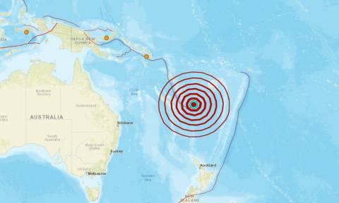 Ισχυρός σεισμός 7,2 Ρίχτερ νοτιοανατολικά του Βανουάτου