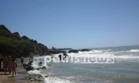 Αγωνία για λουόμενους σε παραλία της Ηλείας