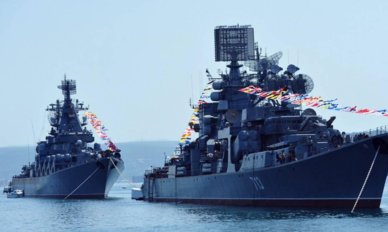 Ασκήσεις ρώσων σαμποτέρ του στόλου Μαύρης Θάλασσας