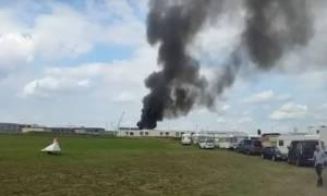 Πυρκαγιά σε κέντρο φιλοξενίας μεταναστών στη Γερμανία: 11 τραυματίες (vid)