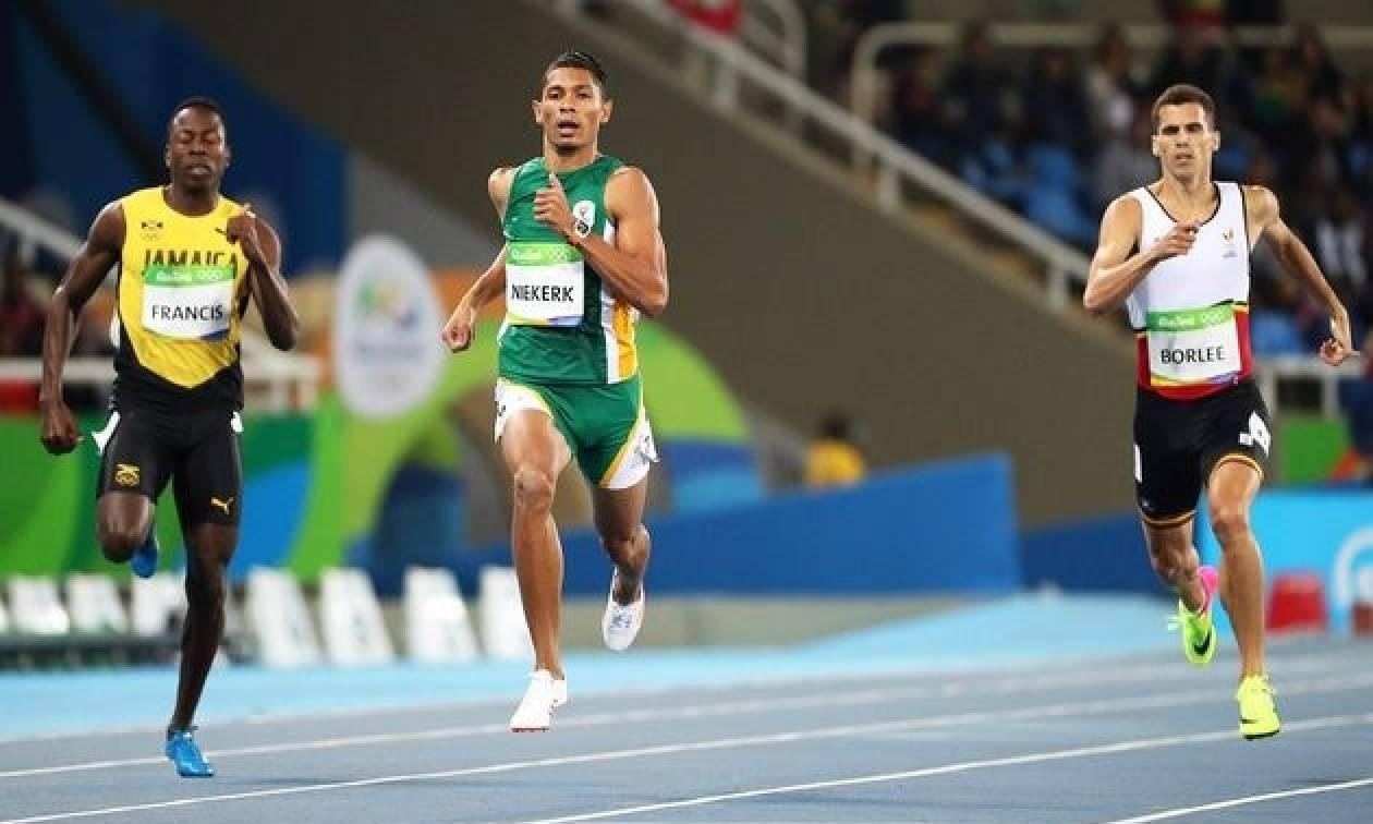 Ολυμπιακοί Αγώνες - Στίβος: Απίστευτο παγκόσμιο ρεκόρ στα 400 μέτρα από τον Γουέιντ φαν Νίεκερκ