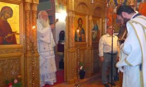 Δεκαπενταύγουστος: Ο Αρχιεπίσκοπος Ιερώνυμος στη Μονή Αγίων Θεοδώρων στη Ζάλτσα Βοιωτίας