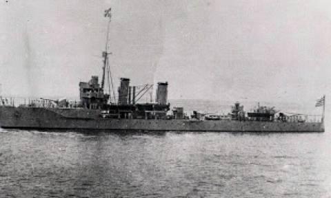 Σαν σήμερα οι Ιταλοί βύθισαν το καταδρομικό «Έλλη» του Πολεμικού Ναυτικού στην Τήνο (video)