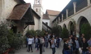 Δεκαπανταύγουστος στο Μοναστήρι της Παναγίας Χρυσορογιάτισσας της Πάφου