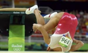 Ολυμπιακοί Αγώνες 2016: Επιχείρησε το «άλμα του θανάτου» και την γλίτωσε παρά τρίχα