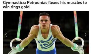 Ολυμπιακοί Αγώνες Ρίο: Παγκόσμια αποθέωση για τον «χρυσό» Πετρούνια