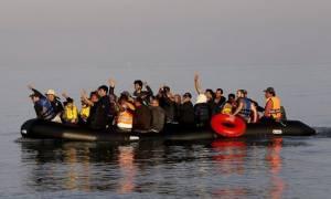 Με μια βάρκα έφθασαν 51 μετανάστες στην Μυτιλήνη