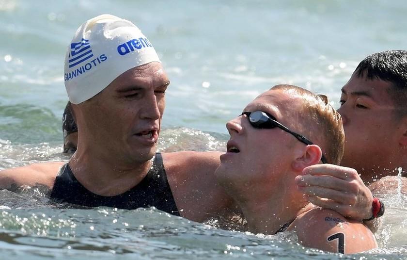 Ρίο 2016: «Ασημένιος» ο Σπύρος Γιαννιώτης στην κολύμβηση (vid)