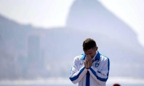 Ολυμπιακοί Αγώνες 2016: Αποθεωτική υποδοχή για τον Σπύρο Γιαννιώτη στο Ολυμπιακό χωριό (vid)
