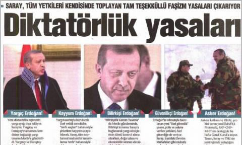 Τουρκία: Δικαστήριο διέταξε το κλείσιμο της φιλοκουρδικής εφημερίδας Ozgur Gundem