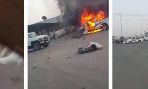 Σαουδική Αραβία: Επτά άμαχοι νεκροί από ρουκέτα που εκτοξεύθηκε από την Υεμένη (video)