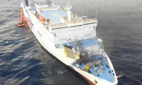 Πουέρτο Ρίκο: Ώρες αγωνίας για 512 επιβάτες πλοίου που έπιασε φωτιά (pics+vid)