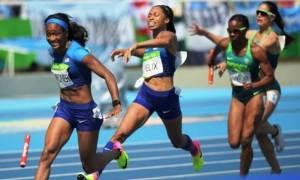 Ρίο 2016: Σκάνδαλο! Τρέχουν μόνες τους στο 4x100 οι ΗΠΑ!