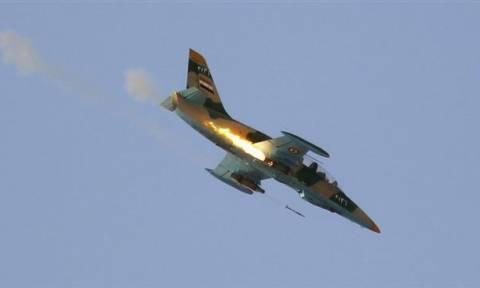 Συρία: Αεροσκάφη του καθεστώτος έπληξαν για πρώτη φορά θέσεις Κούρδων στη Χασάκα