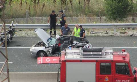 Σφοδρή καραμπόλα στην Εγνατία Οδό - Εννέα τραυματίες, χαροπαλεύουν οι δύο