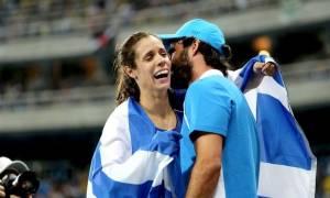 Ολυμπιακοί Αγώνες 2016: Συγκίνηση! Όταν η Στεφανίδη συνειδητοποιεί ότι πήρε το χρυσό (vid)