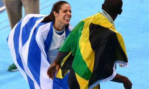 Ολυμπιακοί Αγώνες 2016: Η ιστορία πίσω από τη φωτογραφία Στεφανίδη - Μπολτ