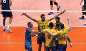 Ολυμπιακοί Αγώνες Ρίο 2016 - Βόλεϊ: «Χρυσή» η Βραζιλία, 3-0 την Ιταλία