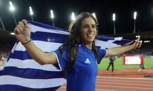Έτσι βοήθησε η Κορακάκη την Στεφανίδη να πάρει το χρυσό (video)