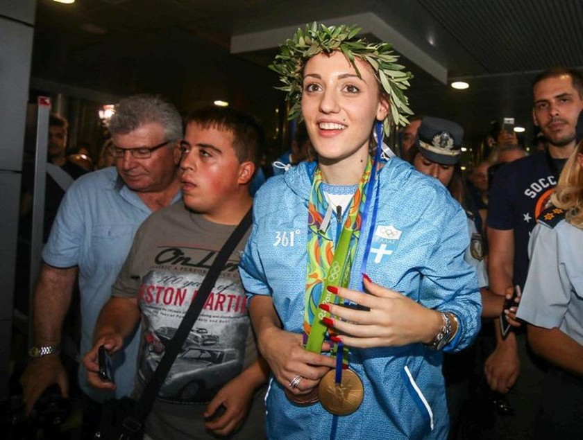 Εσείς ξέρετε τι σημαίνει το «361°» στις φόρμες των Ολυμπιονικών μας στο Ρίο; (photos)