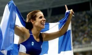 Προκλητική επίθεση της «Αυγής» στην χρυσή Ολυμπιονίκη Κατερίνα Στεφανίδη