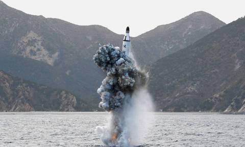 Η Βόρεια Κορέα εκτόξευσε βαλλιστικό πύραυλο από υποβρύχιο
