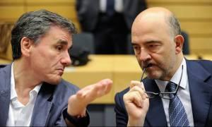 Συνάντηση - αστραπή Σταθάκη και Τσακαλώτου με Μοσκοβισί στις Βρυξέλλες