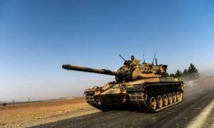 Σκηνικό πολέμου - Τουρκικά άρματα μάχης εισέβαλαν στη Συρία