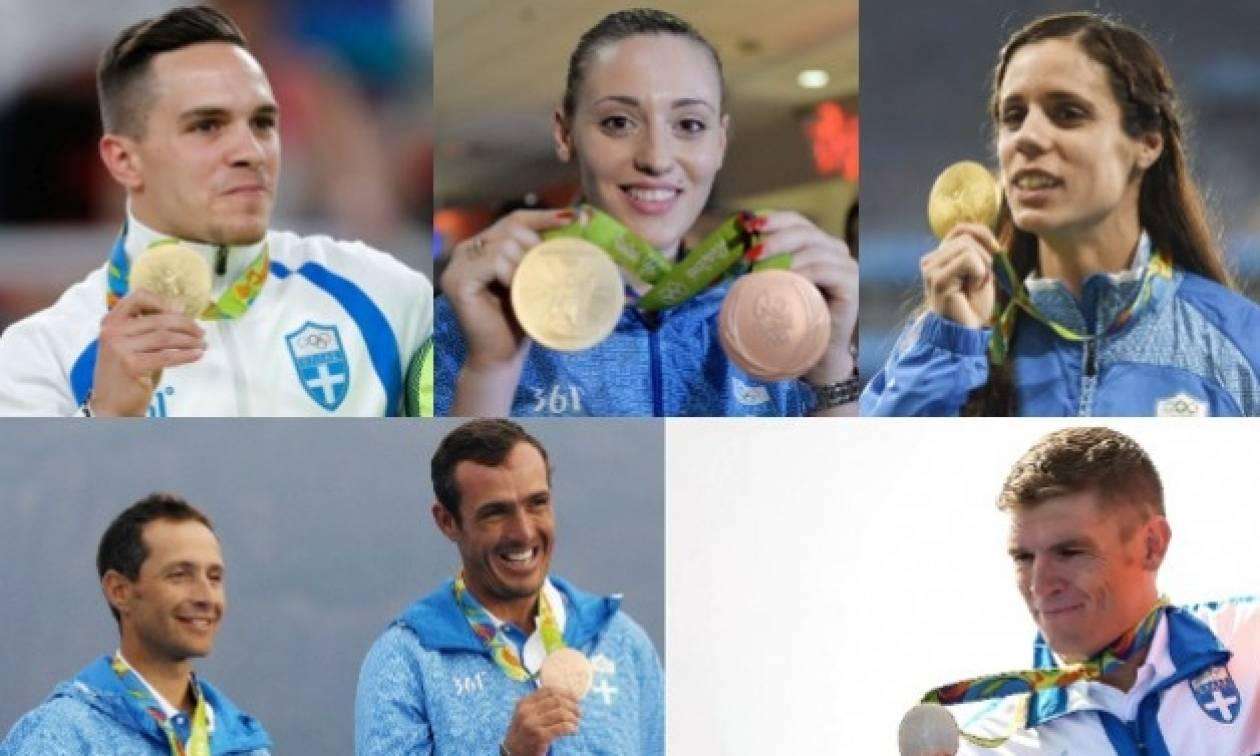 Στον Πρόεδρο της Δημοκρατίας οι Έλληνες Ολυμπιονίκες του Ρίο