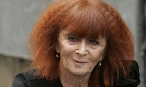 Πέθανε η Γαλλίδα σχεδιάστρια μόδας Sonia Rykiel