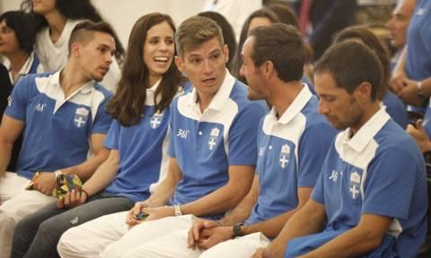 Στο Προεδρικό Μέγαρο οι Ολυμπιονίκες του Ρίο (photos)