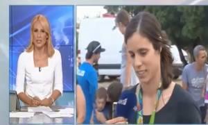 Σκληρή απάντηση Στεφανίδη στη Μπιζόγλη: Άφωνη η δημοσιογράφος (vid)