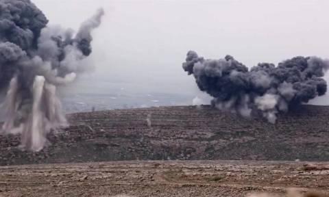 Η Τουρκία βομβαρδίζει θέσεις Κούρδων μαχητών